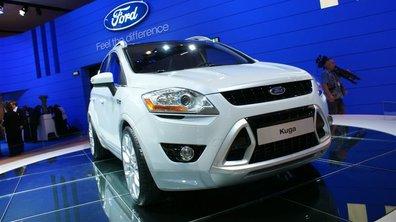 Le Ford Kuga muscle son jeu