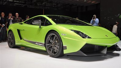 Salon de Genève 2010 : Lamborghini Gallardo Superleggera LP570-4