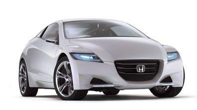 Honda CR-Z hybride : un coupé sportif écolo pour 2010