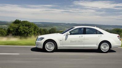 Mercedes S 400 BlueHybrid: l'écolo-chic