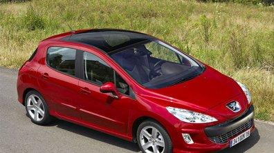 Peugeot 308 : la baisse des rejets continue