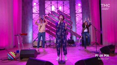 """Pi Ja Ma - """"Radio Girl"""" en live sur le plateau de Quotidien"""