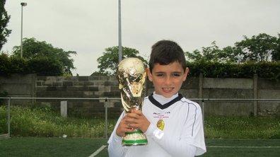 Vidéo insolite : Les exploits de Pietro Tomaselli, 9 ans, qui crée le buzz grâce à ses dribbles