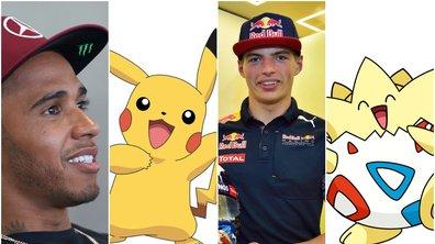 Et si les pilotes de F1 étaient des Pokémon ?