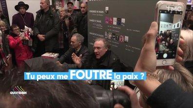 Pipe et prose : Gérard Depardieu au Salon du Livre