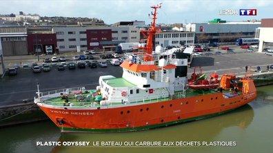Plastic Odyssey, le bateau qui carbure aux déchets plastiques