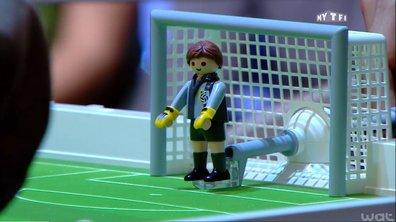 MyTELEFOOT - Les objets insolites de la Coupe du Monde : Playmobil, album Panini
