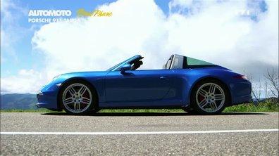 Plein Phare : nouvelle Porsche 911 Targa 4S, retour aux sources