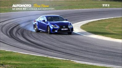 Plein Phare : RC F, Lexus côté sport