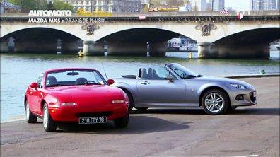 Plein Phare : La Mazda MX-5 fête ses 25 ans