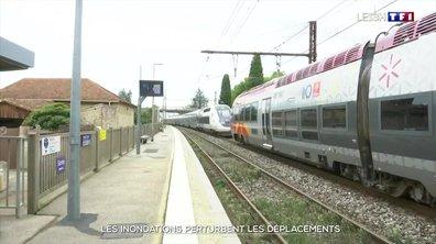 Pluies et orages : de nombreuses infrastructures bloquées dans le Gard