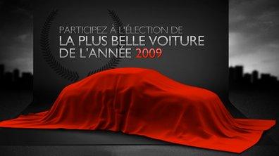 Elisez la plus belle voiture de l'année 2009