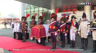 Plus de 200 ans après, la dépouille d'un général napoléonien rapatriée en France
