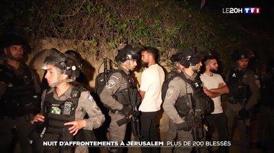 Plus de 200 blessés dans des heurts entre Palestiniens et police israélienne à Jérusalem