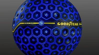 Salon de Genève 2017 : Goodyear dévoile un pneu sphérique ultra futuriste !