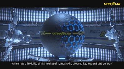 Goodyear Eagle 360 Urban : Le pneu du futur intelligent et connecté !