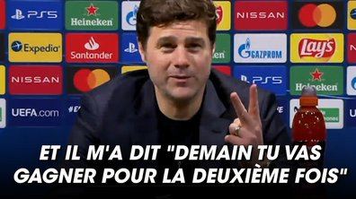 VIDEO - Quand Mbappé promettait à Pochettino de battre le Barça