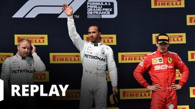 Le podium du Grand Prix de France