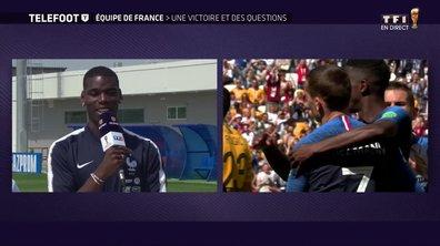 """[Exclu Téléfoot 17/06] - Equipe de France / Pogba : """"On a eu les trois points et c'était l'objectif"""""""