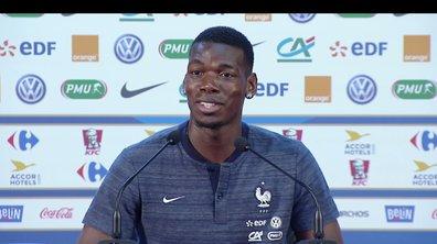 """Paul Pogba sur Antoine Griezmann : """"Ce qu'il réalise dans cette Coupe du monde, très peu d'attaquants le font"""""""