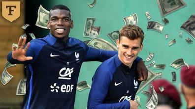 Mondial 2018: les Bleus n'auront pas de prime s'ils n'atteignent pas les quarts