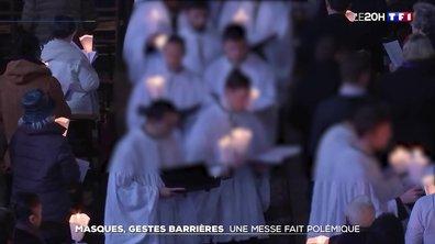 Polémique autour d'une messe de Pâques sans gestes barrières à Paris