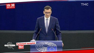 Polexit : clash au Parlement européen