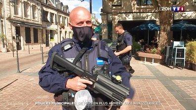 Polices municipales : des agents de plus en plus armés face aux violences