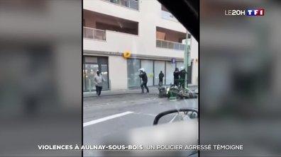 Policiers agressés à Aulnay-sous-Bois lors d'un contrôle : l'un des deux agents raconte