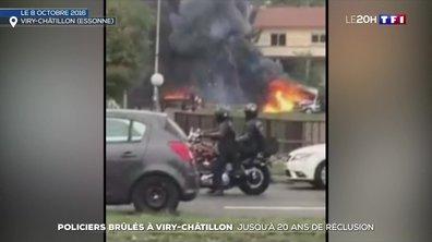 Policiers brulés à Viry-Châtillon : le verdict de l'affaire