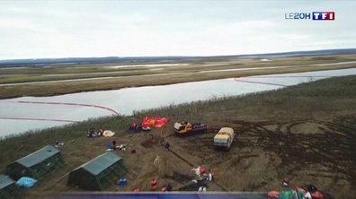 Pollution : 20 000 tonnes d'hydrocarbures dans une rivière de l'Arctique