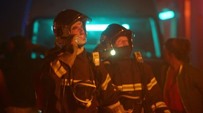 Incendie - L'arrivée des pompiers dans le chaos