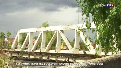 Les ponts vétustes soulèvent encore beaucoup d'inquiétudes