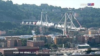 Pont de Gênes : un an après, des riverains toujours traumatisés