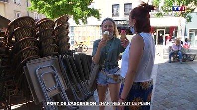 Pont de l'Ascension : les Parisiens débarquent en force à Chartres