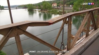 Pont du Rhône  : un drame évité de justesse