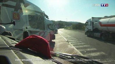 Pont effondré à Mirepoix-sur-Tarn : enquête sur le respect du code de la route par les transporteurs