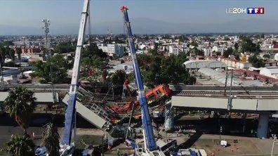 Pont effondré sous le poids d'un métro à Mexico : le récit du drame