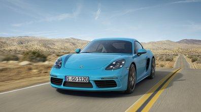 Salon de Pékin : Porsche 718 Cayman, la puissance abordable