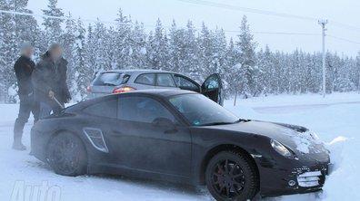 La nouvelle Porsche 911 espionnée lors de ses essais