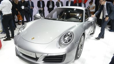 Salon de Francfort 2015 : Porsche 911 restylée, place au turbo !