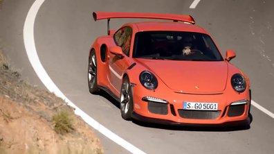 Porsche 911 GT3 RS 2015 : présentation officielle
