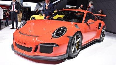 Salon de Genève 2015 : Porsche 911 GT3 RS, résistance du moteur atmo (+ vidéo)