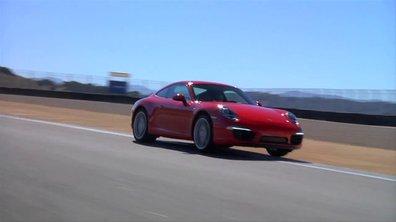 Vidéo : la nouvelle Porsche 911 au circuit de Laguna Seca
