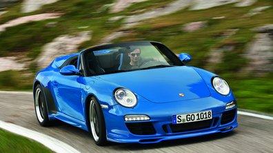 Mondial de l'Auto 2010 : Avant-première parisienne pour la Porsche 911 Speedster