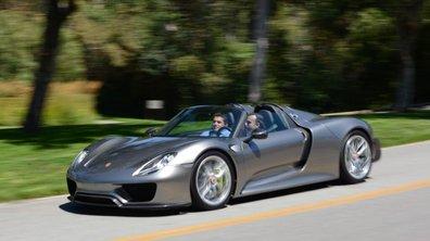 Porsche 918 Spyder 2013 : en version de production à Monterey ?