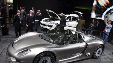 Salon de Genève 2010 : Porsche 918 Spyder