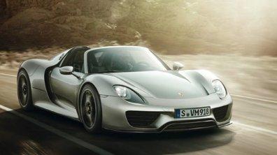La Porsche 918 Spyder révèle sa brochure !