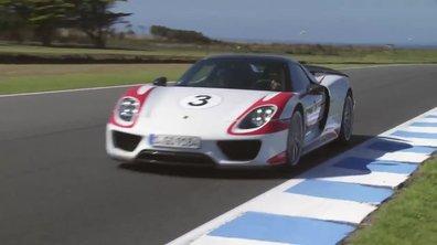 Porsche 918 Spyder : tour de circuit embarqué à Phillip Island