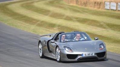La Porsche 918 Spyder encore ouverte à la commande !